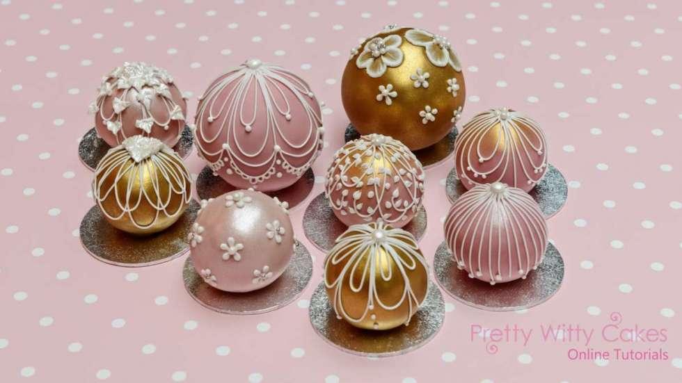 Wedding Cake Pops 30 Elegant Temari Wedding Cake Balls