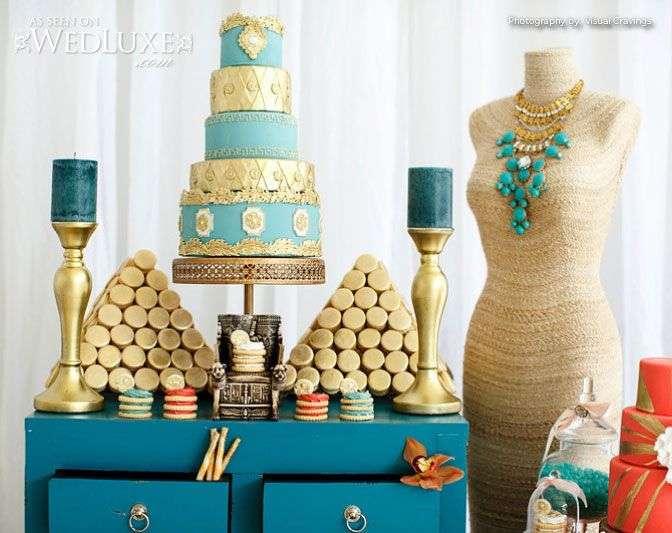 An Egyptian Inspired Wedding Theme