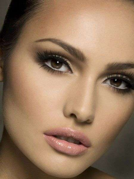 wedding makeup ideas for brown eyes soft and bridal makeup looks arabia weddings 9815