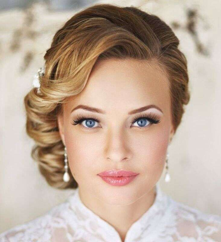 Soft And Natural Bridal Makeup Looks