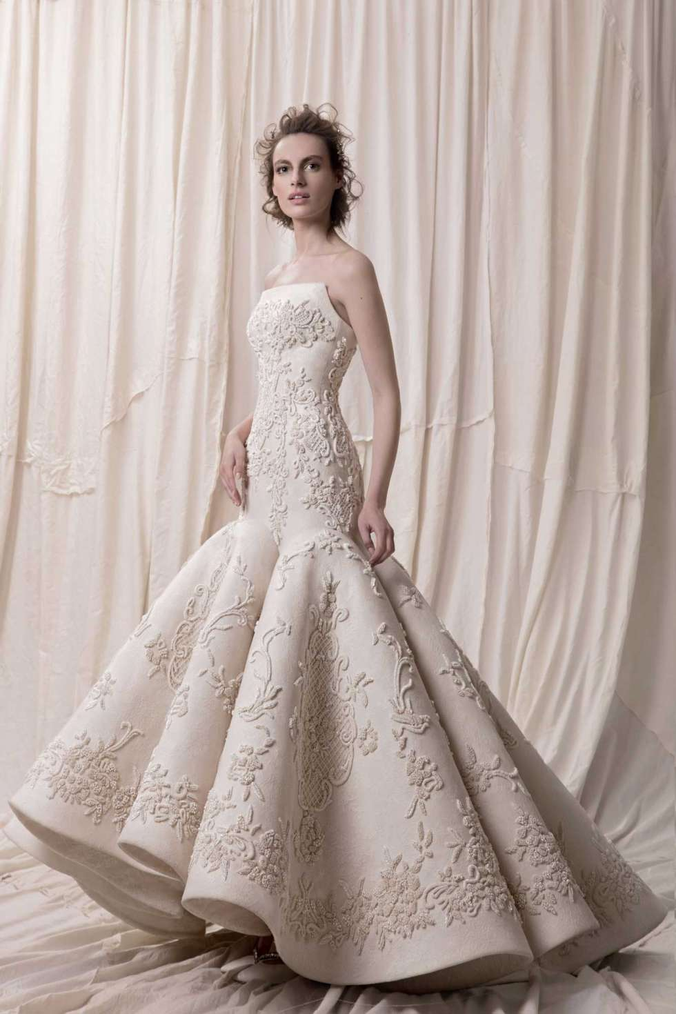 The 2018 Wedding Dress Collection by Krikor Jabotian Arabia Weddings