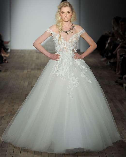 The Lazaro Wedding Dress Collection for Spring 2018 - Arabia Weddings