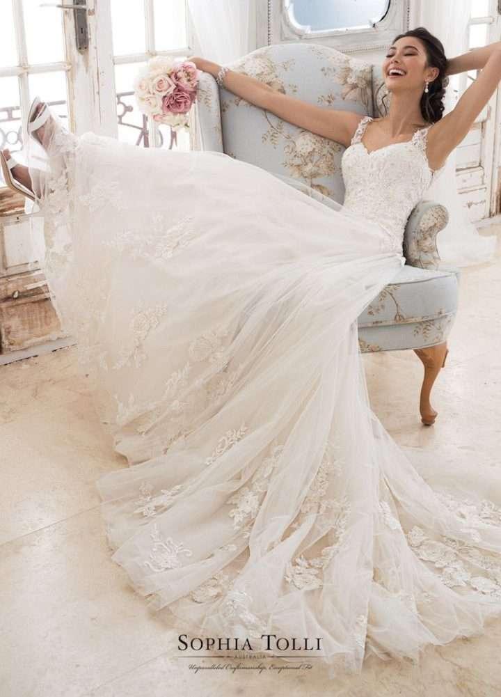68e79876a6 The Spring 2018 Sophia Tolli Wedding Dresses. The Spring 2018 Sophia Tolli  Wedding Dresses