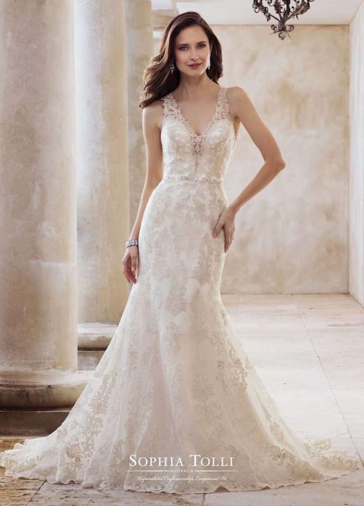 Sophia Tolli Spring 2018 Wedding Dresses - Arabia Weddings
