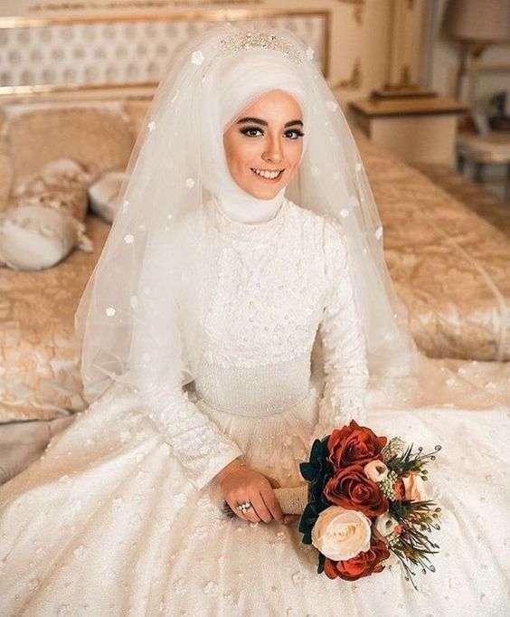 37c75011250f8 عرايس محجبات. حجاب عروس. حجاب عروس. صور عروسه محجبه. صور عروسه محجبه