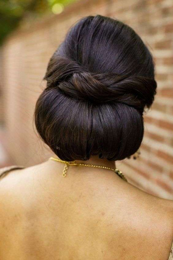16 Simple Bridal Hairstyles For The Bride Of 2018 Arabia Weddings