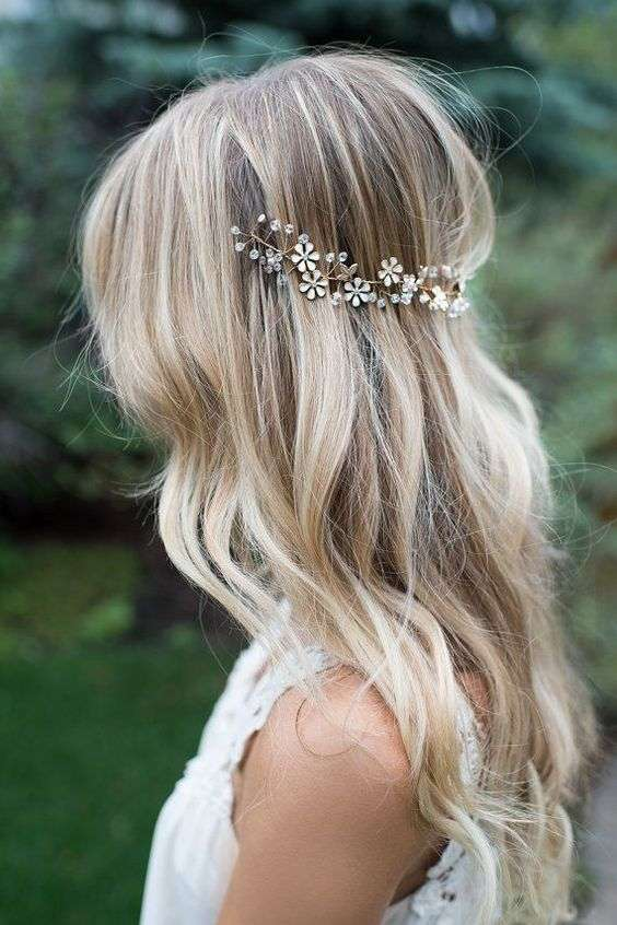 20 Ideas To Wear Your Hair Down On Your Wedding Day Arabia Weddings