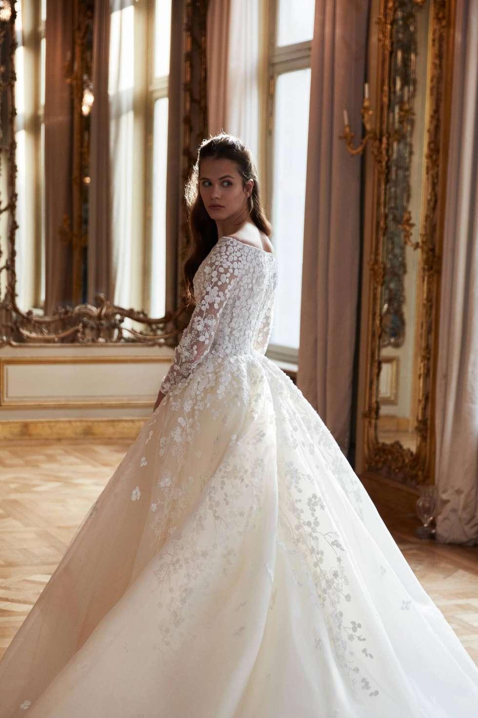 2aa644a87 فساتين زفاف محجبات مثالية للعروس المحجبة | موقع العروس