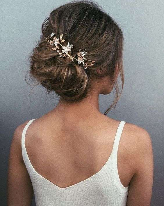 تسريحات اعراس مرفوعة لطلة عروس مميزة موقع العروس