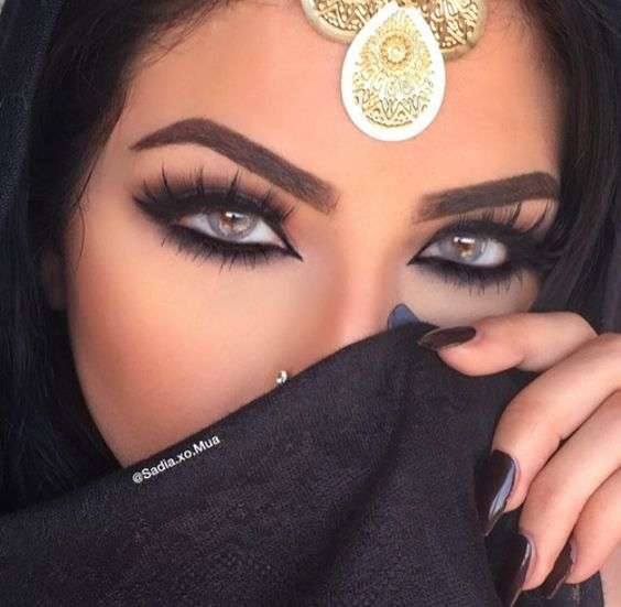 Glamorous Makeup Looks For The Arab Bride Arabia Weddings