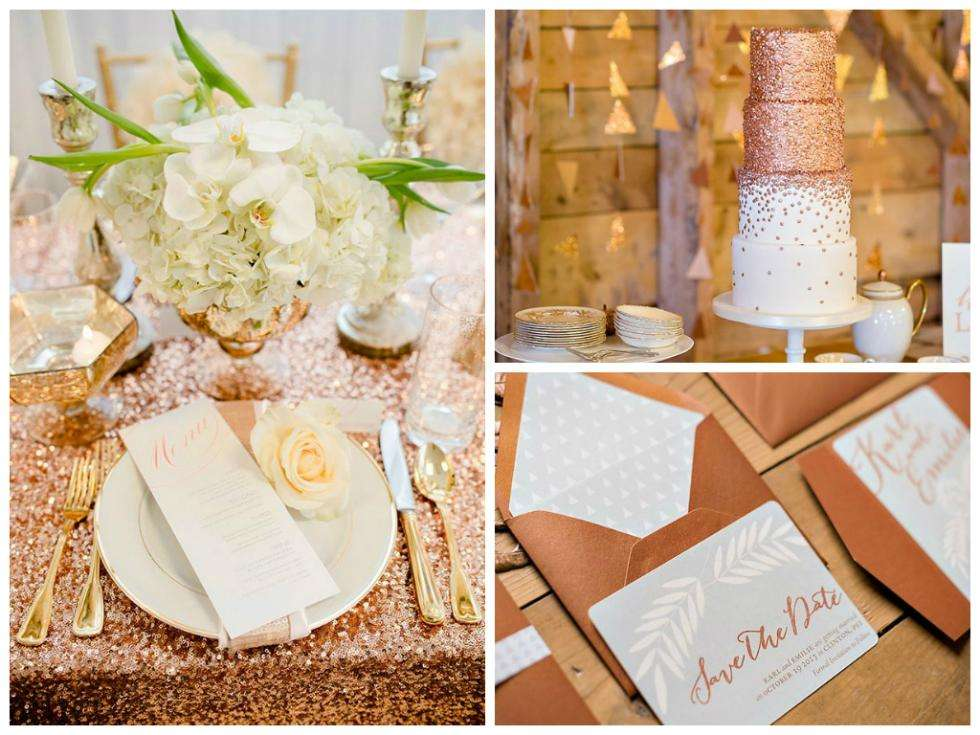 Your Wedding In Color Cream And Copper Arabia Weddings
