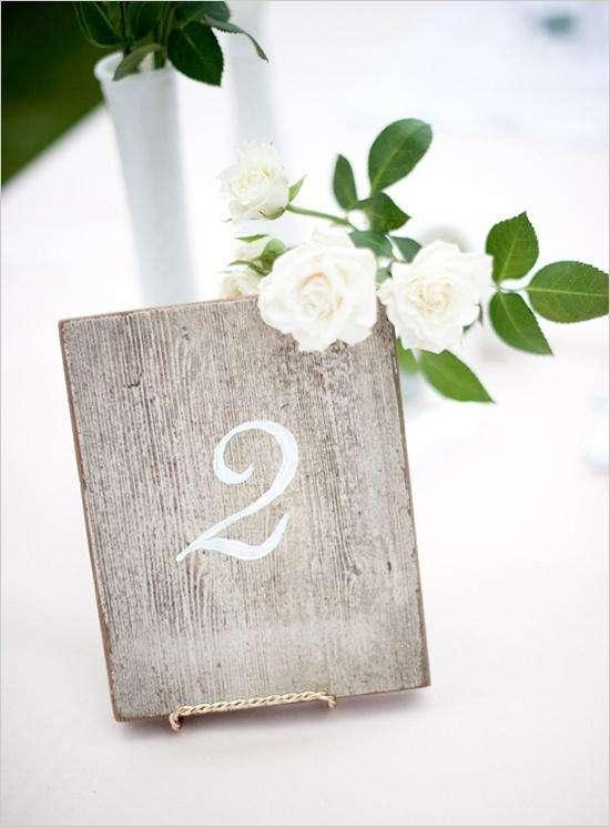 Ideas For Wedding Table Numbers Arabia Weddings