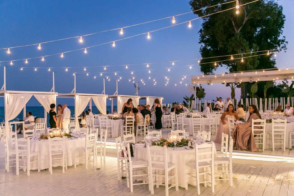 حفل زفاف بيسان وسعد في قبرص