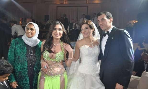 Donia Samir Ghanem and Rami Radwan's Wedding - Arabia Weddings  Donia Samir Gha...