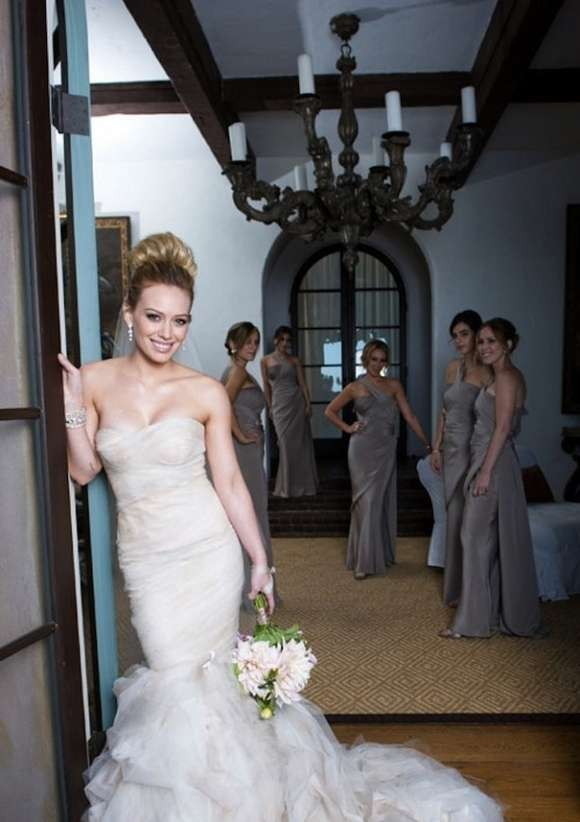 Hilary Duff And Mike Comries Wedding