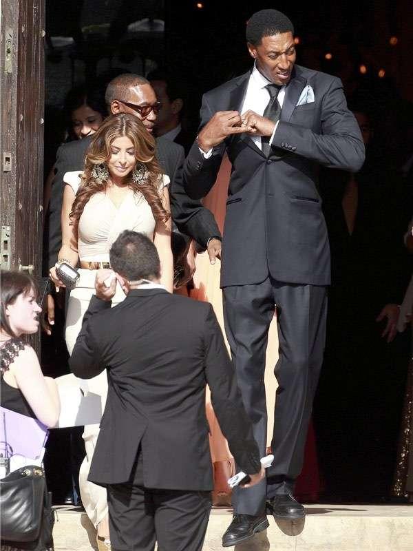 Michael Jordan And Yvette Prieto S Wedding Arabia Weddings