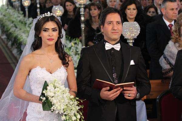 amir yazbeck and maria mdawars wedding arabia weddings