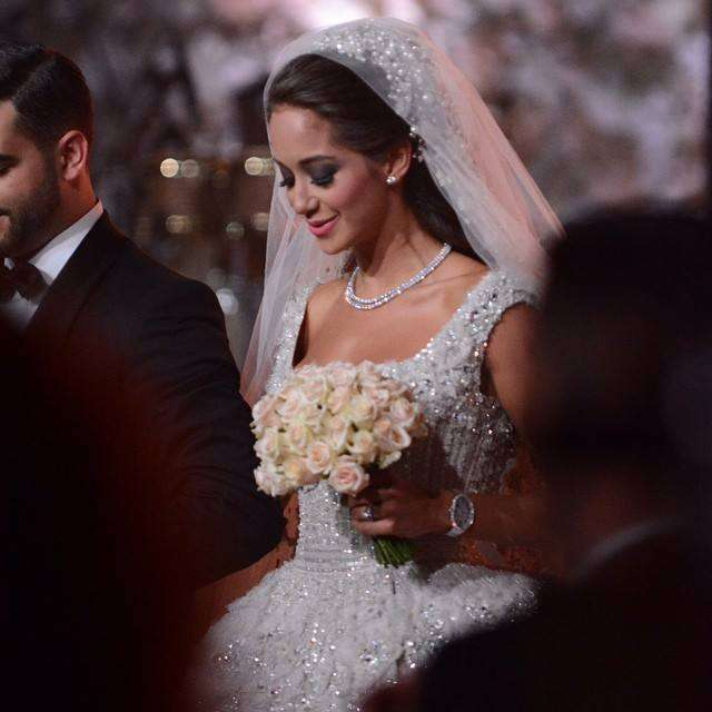 Nancy Ajram Wedding Cake