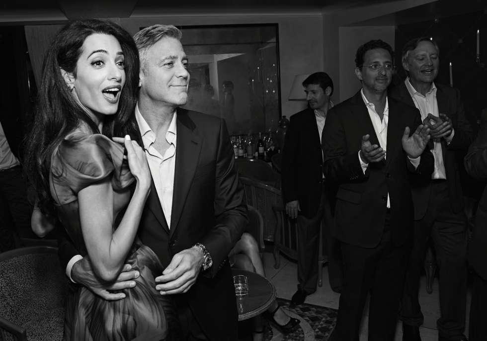 George Clooney Amal Alamuddin Wedding Cake