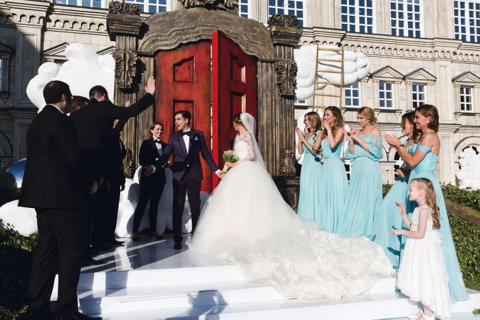 Murad Osmann And Natalia Zakharova's Wedding
