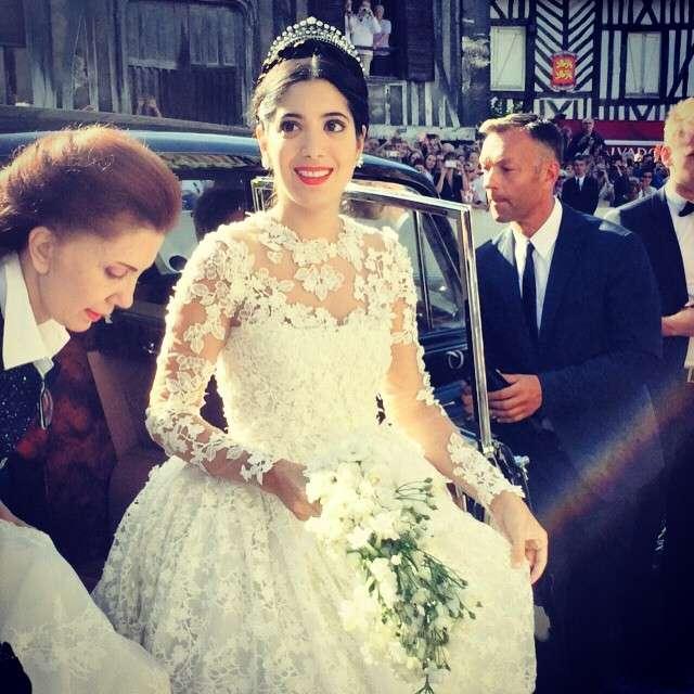 Top Ten Wedding Songs Of All Time: Noor Fares And Alexandre Al Khawam's Wedding