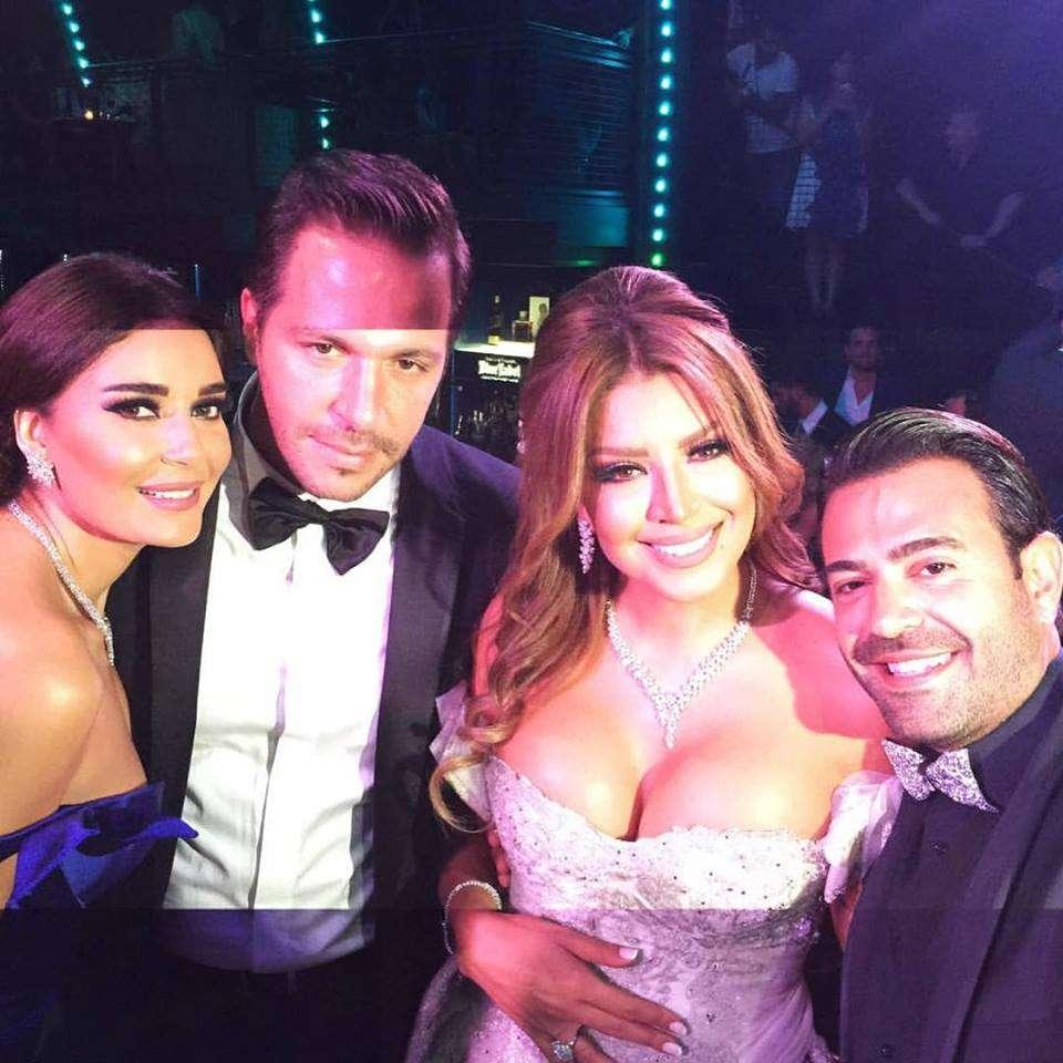 Amal Bouchoucha And Walid Awada's Wedding