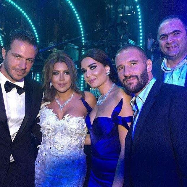 Real Weddings Polignano: Amal Bouchoucha And Walid Awada's Wedding