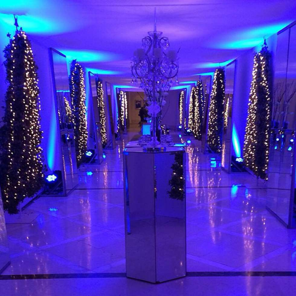 Real Fairytale Weddings Silver Spring Md: A Winter Wonderland Wedding Theme By My Event Design