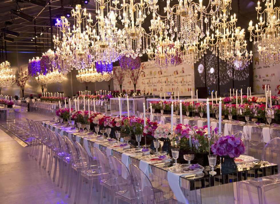 Luxury Wedding Indoor: A Beautiful Engagement Party In Amman