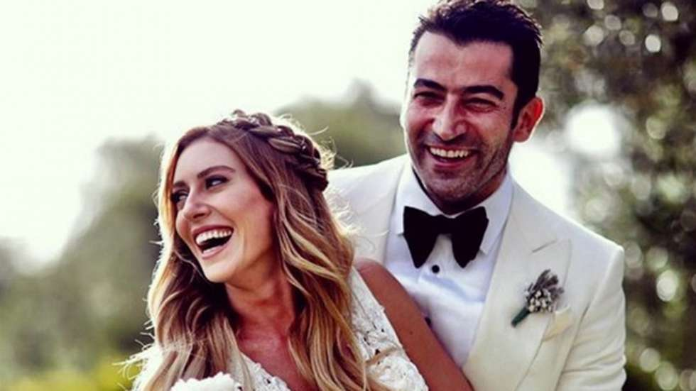 Sinem Kobal And Kenan Imirzalioglus Wedding