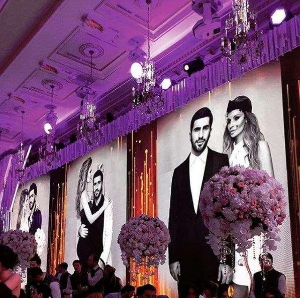 russian billionaire wedding arabia weddings