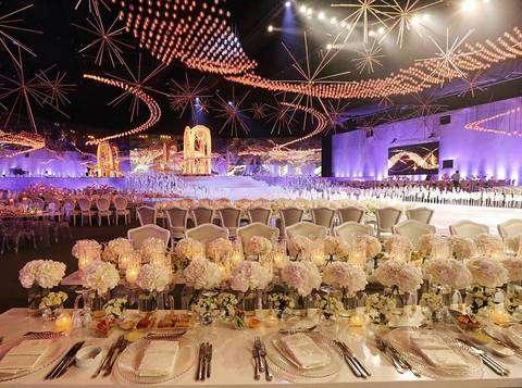 A Heaven Sense Wedding Theme By Paul Nasr Arabia Weddings