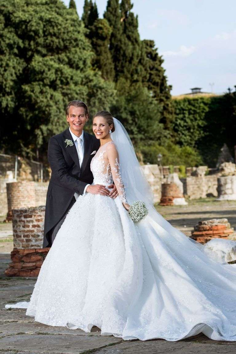 The Luxury Wedding Of Swarovski Heiress Victoria Swarovski And