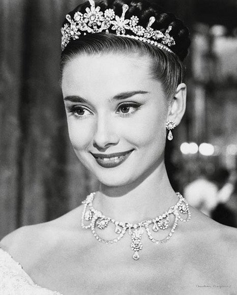 Bridal Inspiration Audrey Hepburn Arabia Weddings