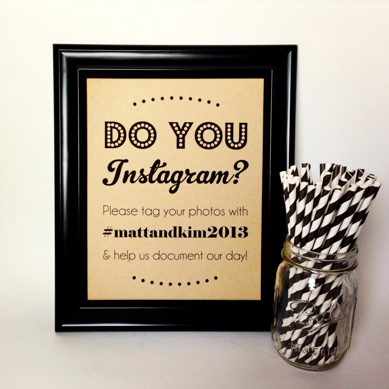 Instagram Wedding Hashtag: How To Instagram Your Wedding