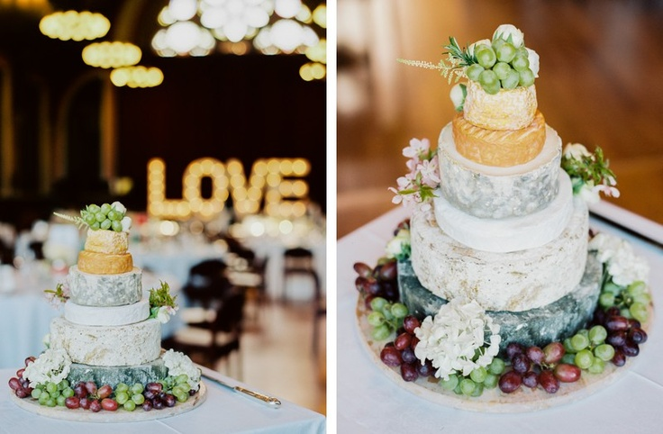 The Cheese Wedding Tower Trend