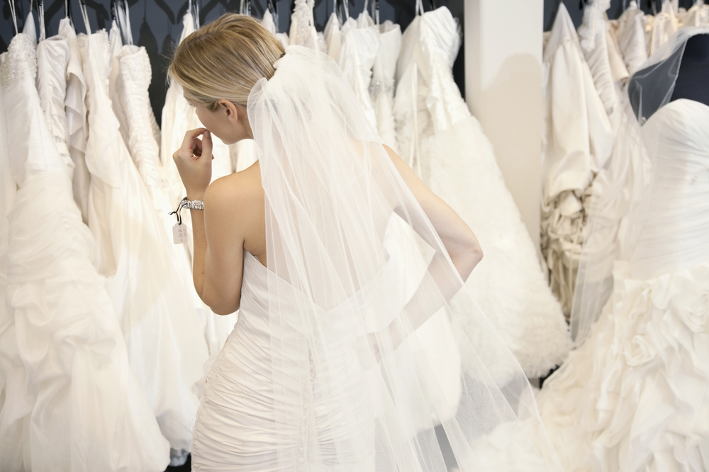 Things to consider when shopping for wedding dresses for Going to a wedding dress