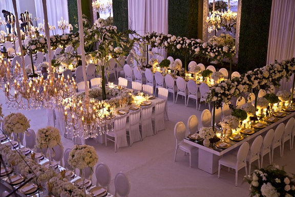 Details of a garden wedding theme in jordan arabia weddings