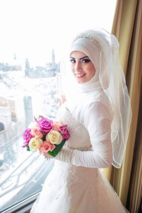 Hijab Tips And Trends For A Unique Bridal Look Arabia