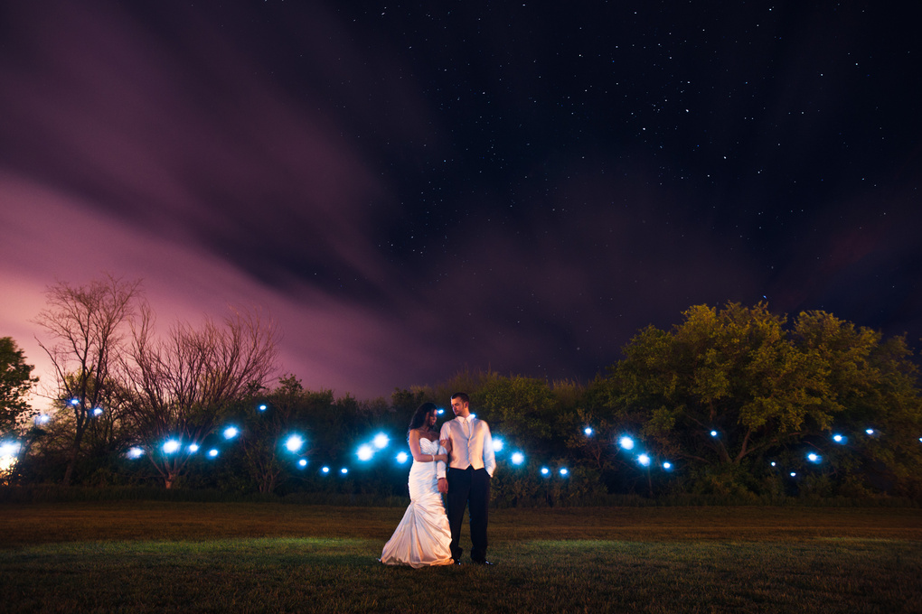Incorporate Night Photography Into Your Wedding