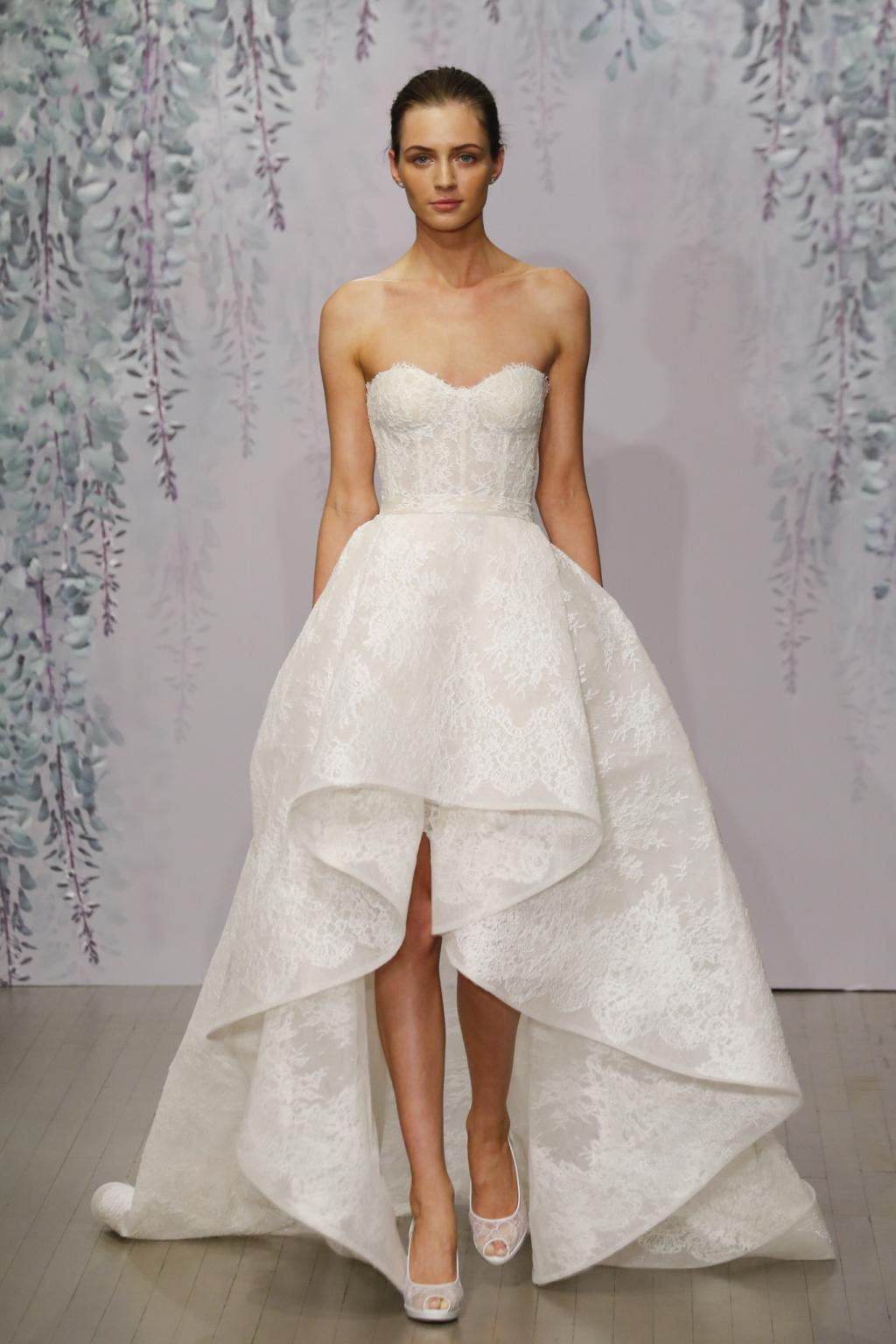 Monique Lhuillier Fall 2016 Wedding Dress Collection ...