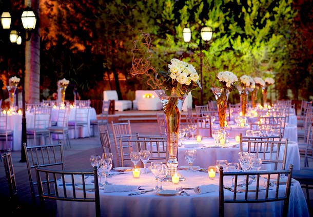 Beautiful outdoor wedding venues in amman arabia weddings for Places for outdoor weddings
