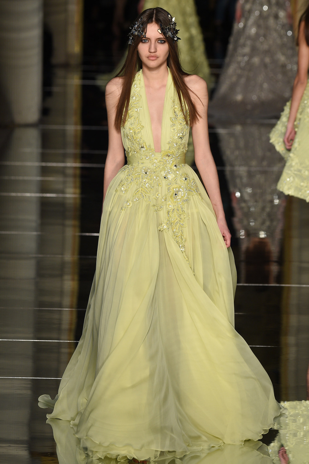 The latest zuhair murad haute couture collection arabia for Haute couture designers