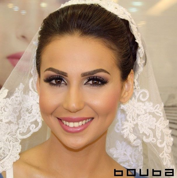 Bridal Makeup For Destination Wedding : Bridal Makeup By Bouba - Arabia Weddings