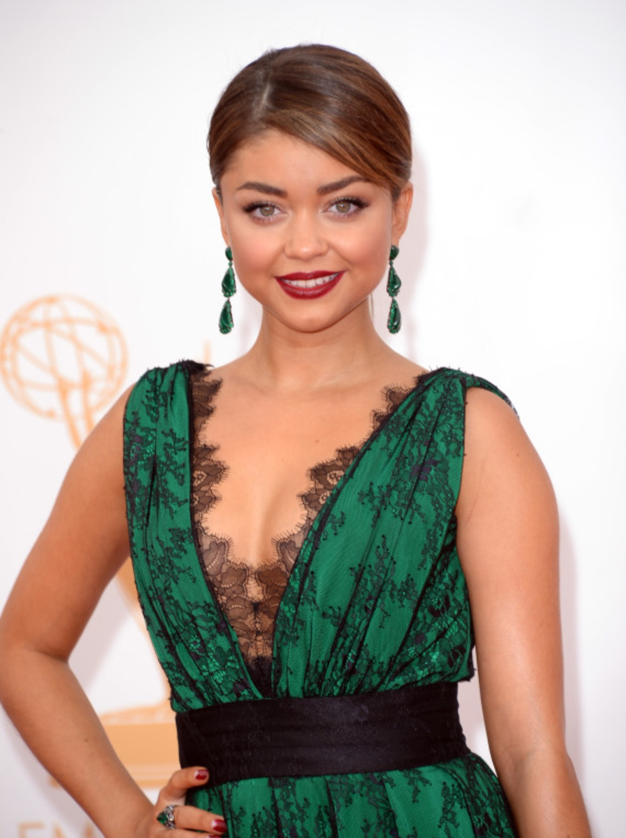 Get Your Bridal Beauty Inspiration From Sarah Hyland