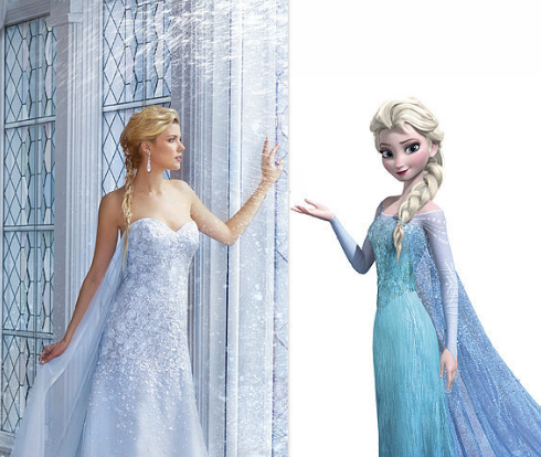 6 Magical Disney-Inspired Wedding Dresses - Arabia Weddings