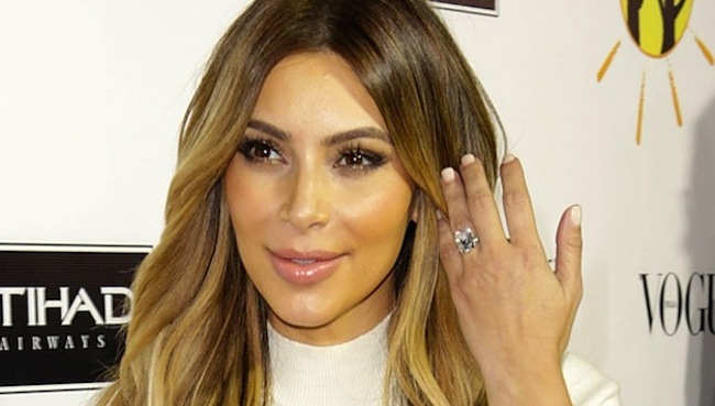 pics of kim kardashians ring from kanye