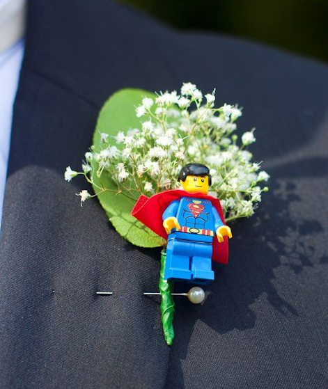 Bride And Groom Only Wedding Ideas: Unique Buttonhole For The Groom