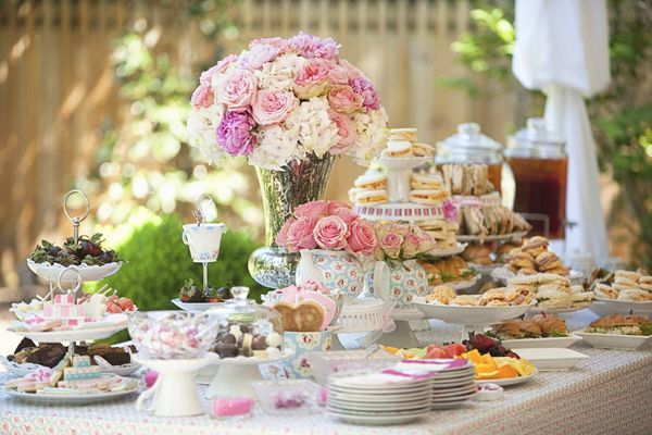 Bridal Shower Elegance An Afternoon Tea Party