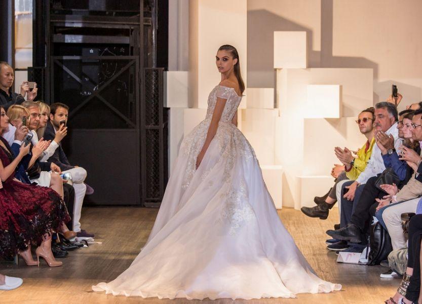 3b9aa590c صور فساتين زفاف من تصميم أشهر مصممي الأزياء اللبنانيين | موقع العروس